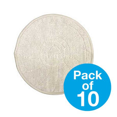 Mytee G141-18 - 18in. DuraMaxTM Cotton Bonnet Pads | Pack of 10