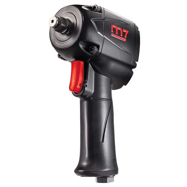 Mighty Seven NC-4612Q - 1/2 in. Drive Quiet Mini Impact Wrench 500 Ft-Lb