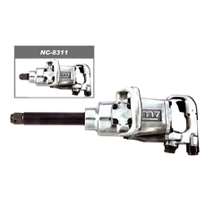 Mighty Seven M7 NC-8351 - 1 in Drive Impact Wrench 1800 Ft-Lb 6 in. Ext. Anvil