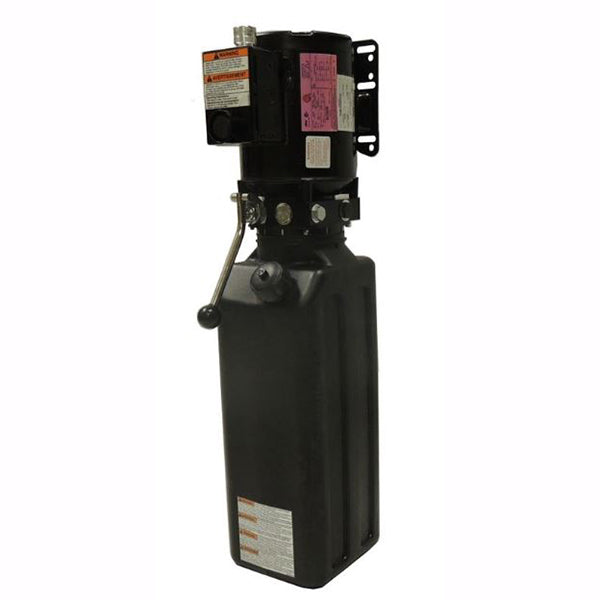 Tuxedo PU-110V-L-S Spx 110 Volt Long Tank Hydraulic Power Unit.