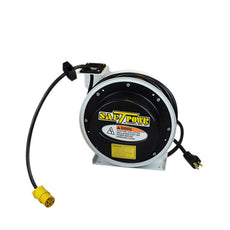 Saf-T-Lite 4050-3600 50ft. 13 Amp Retractable Cord Reel with Single Receptacle Outlet