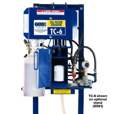 TSI TC-6 Oil Filter Crusher | Salvage and Recycling Equipment