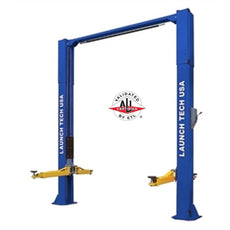Launch Tech Usa TLT210-XT 10,000 Lb Two Post Clear Floor - Asymmetric - Ali/Etl Certified