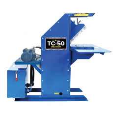 TSI TC-50 EP Tire Cutter 3HP, 220v Single Phase Electric Motor | Salvage and Recycling Equipment