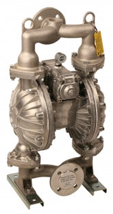 LiquiDynamics 20019-Y 2 in Double Diaphragm Pump, Aluminum Body w/ Buna Seals, Diaphragm