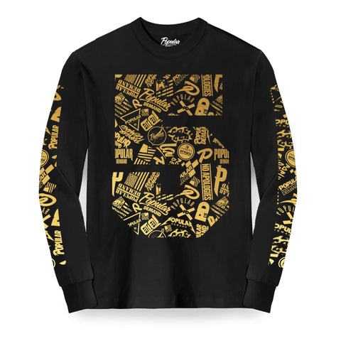 Five Year 5 Long Sleeve / Black
