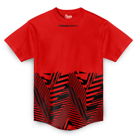 Angles Takeover Scoop Tee / Red