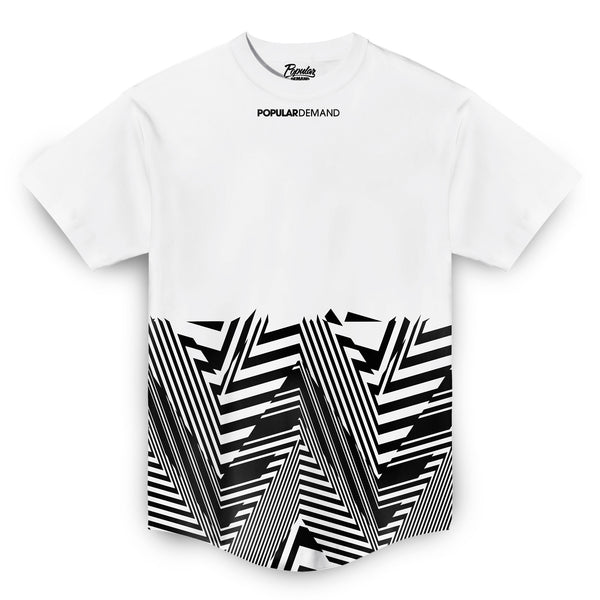 Angles Takeover Scoop Tee / White