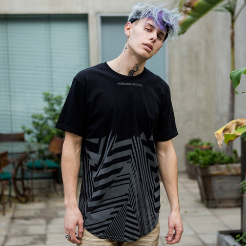 Angles Takeover Scoop Tee / Black