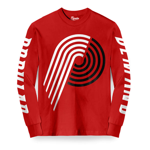 Hardwood Blaze Long Sleeve / Red