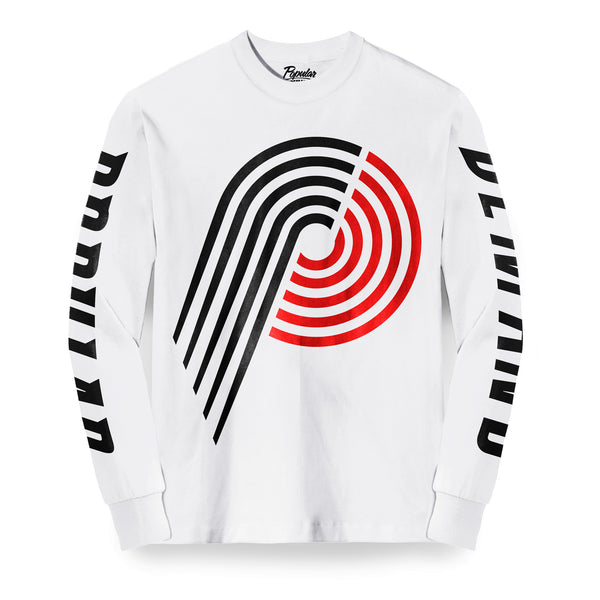 Hardwood Blaze Long Sleeve / White