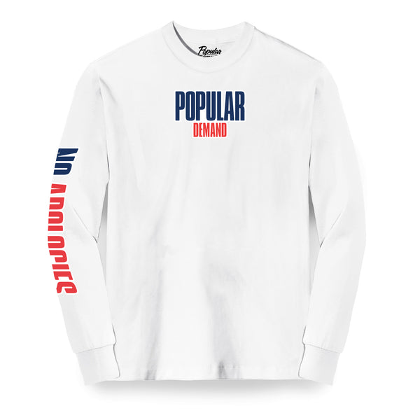 PD x Champion Long Sleeve / White