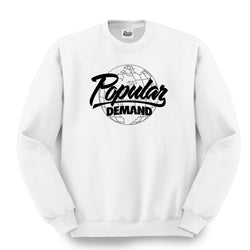 Global Crewneck / White