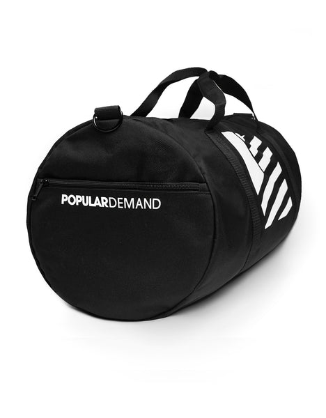 Square Flag Duffle Bag / Black