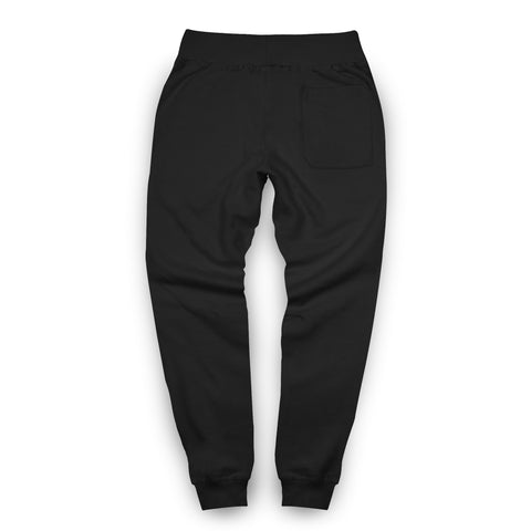 Popular Script Joggers / Black & White