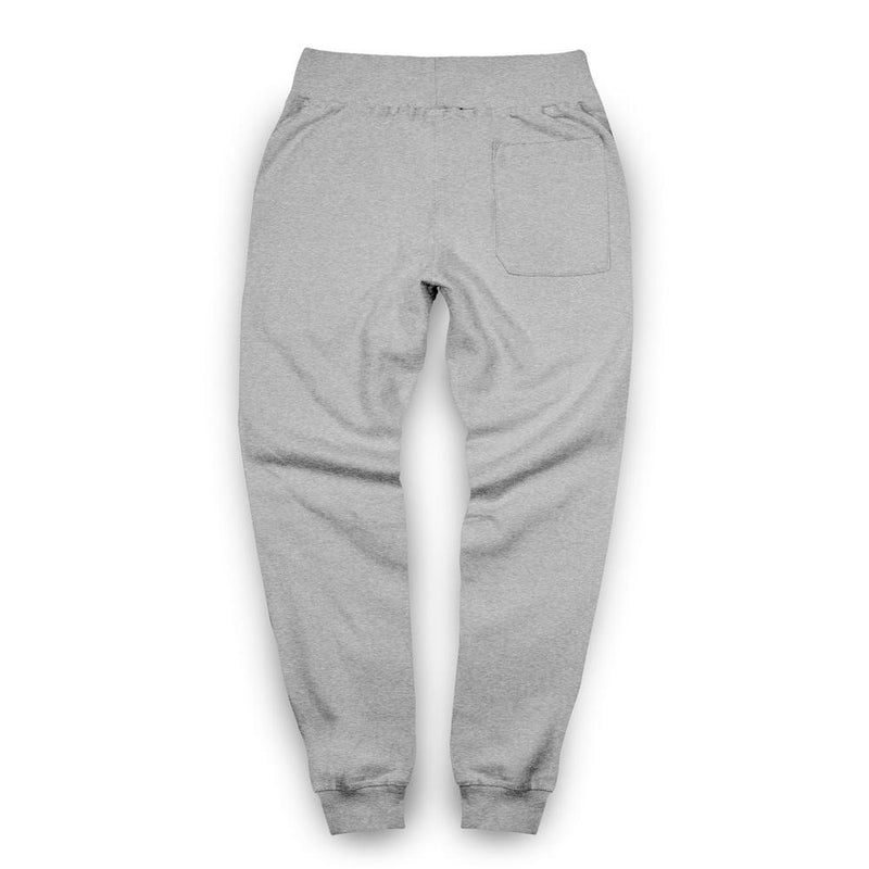 Interlock Joggers / Heather Grey