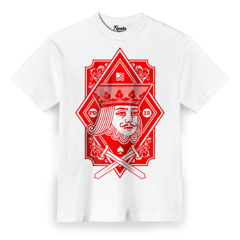 King Crest Tee / White