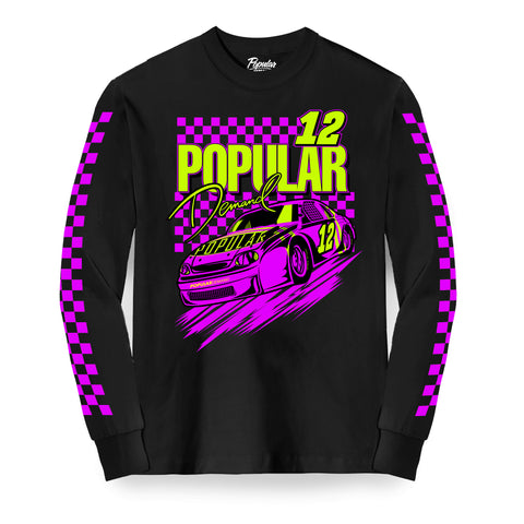 RPM Long Sleeve Tee / Black