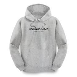 Official Logo Hoodie / Heather Gray