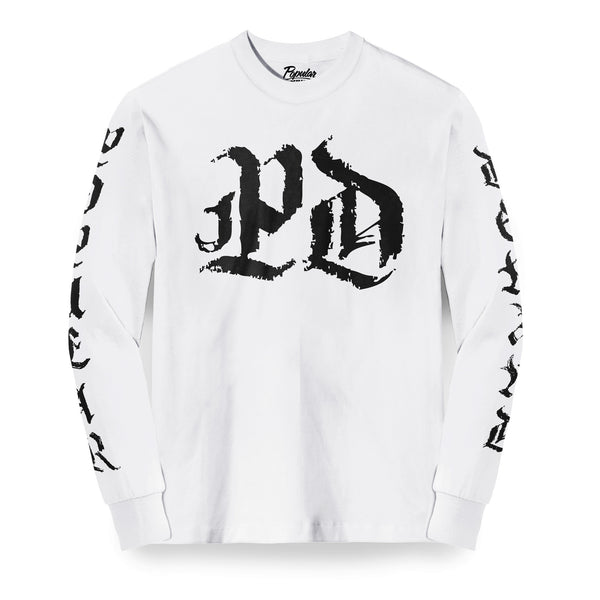 Medieval PD Long Sleeve / White