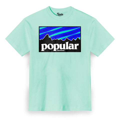 Camp Aurora Tee / Mint