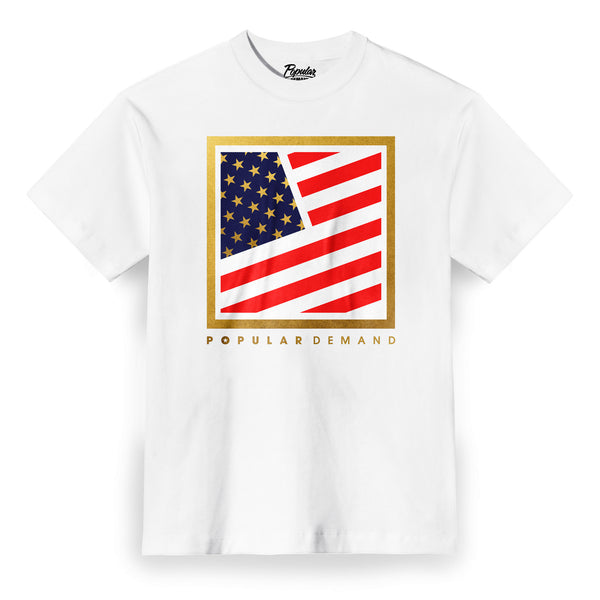 Olympic Square Flag Clean / White
