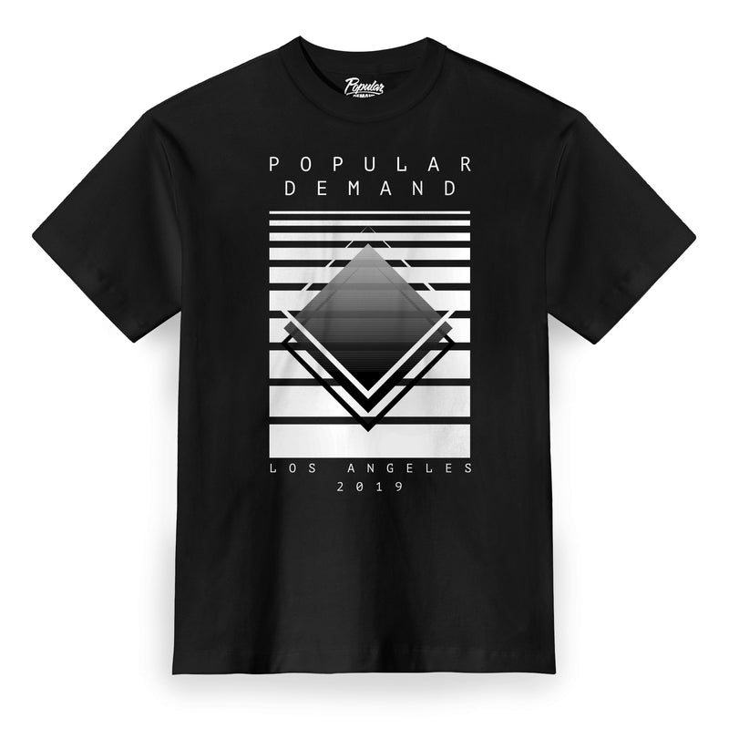 Abstract Tee / Black