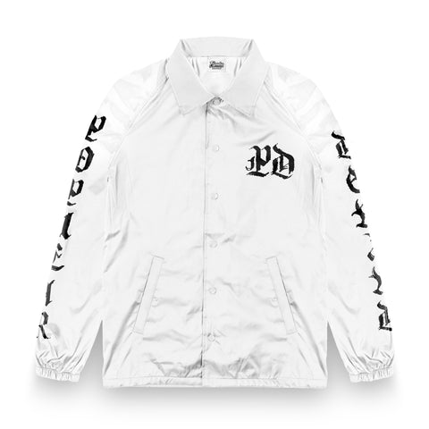 Medieval PD Coaches Jacket / White