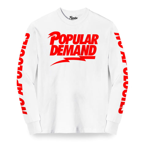 Rebel No Apologies Long Sleeve / White
