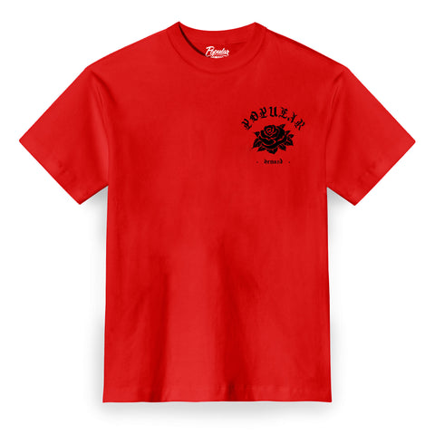Classic Rose Tee / Red