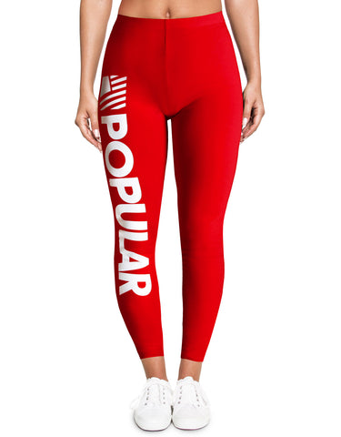 PD Bold Leggings / Red