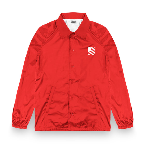 SF Coaches Jacket / Red