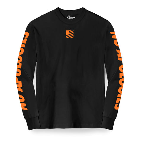 SFNA Long Sleeve / Black & Orange
