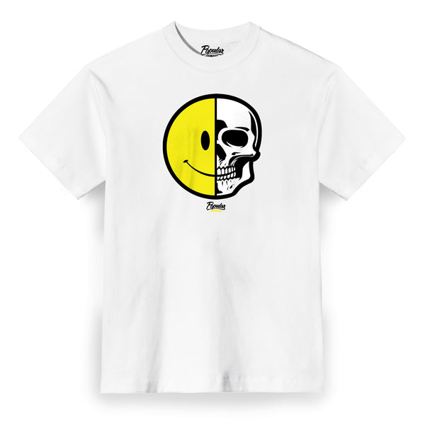 Happy Skull Tee / White