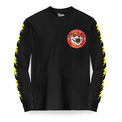 Tiger Style Roar Long Sleeve / Black