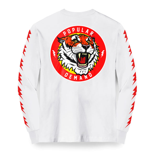 Tiger Style Roar Long Sleeve / White