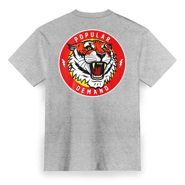 Tiger Style Roar Tee / Athletic Heather
