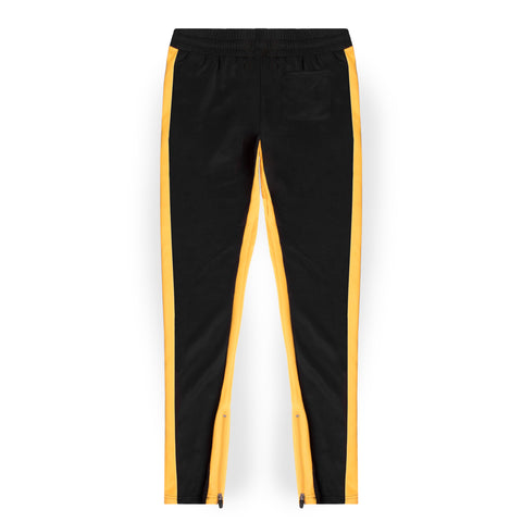 Reign Track Pants / Black & Yellow