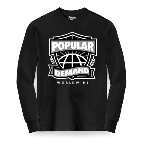 Worldwide Crest Long Sleeve / Black