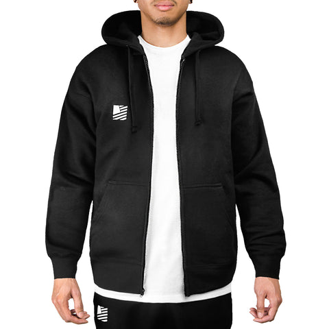 PD Basics Zip-Up Hoodie / Black