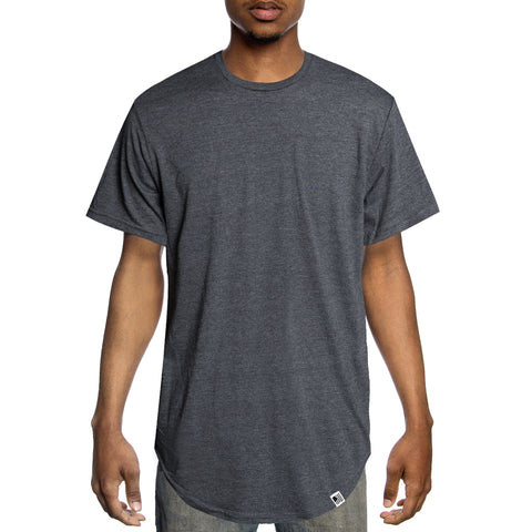PD Basics Scoop Tee / Charcoal Heather