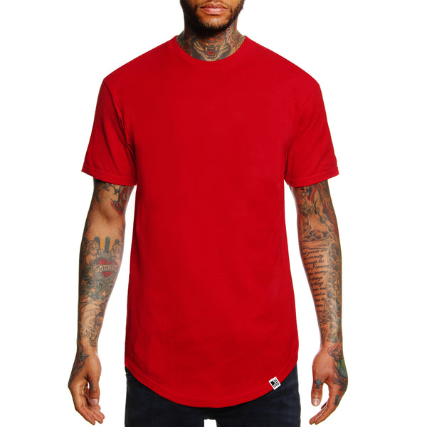 PD Basics Scoop Tee / Red