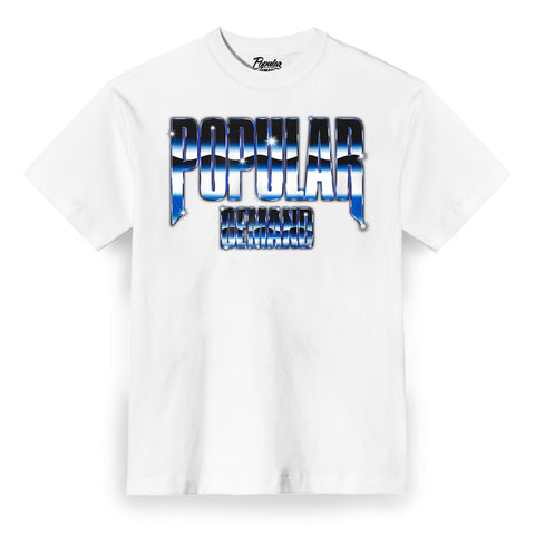 Retro Future Raw Tee / White
