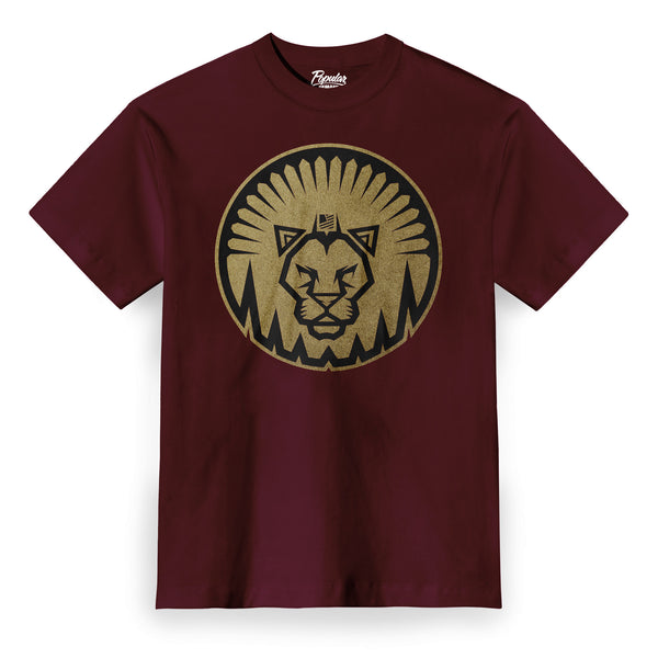 Medieval Battle Lion / Burgundy