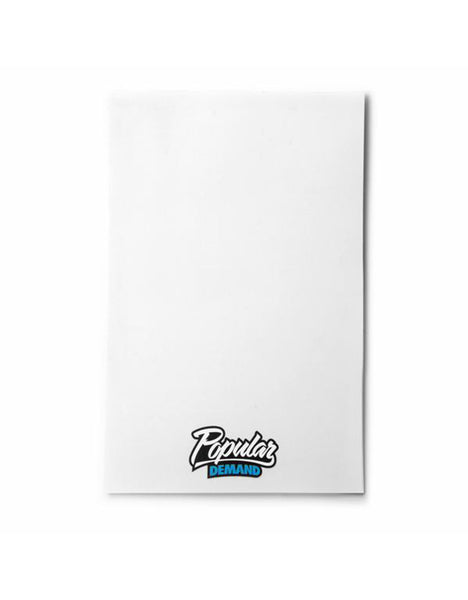 Popular Demand Notepad