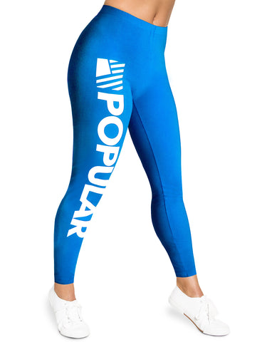 PD Bold Leggings / Teal