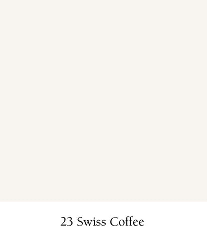 Kelly-Moore Paints most popular color is 23 Swiss Coffee off white