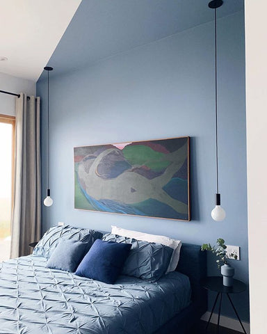 Kelly-Moore Paints interviews Airbnb Dillon Beach Sky House owners and designers Edward and Natalia Lehrman