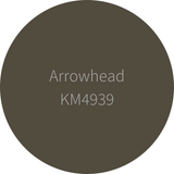 Kelly-Moore Paint KM4939 Arrowhead is a medium dark earth brown. Interior and exterior rated.