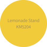 Kelly-Moore Paint KM5204 Lemonade Stand is a robust and bright yellow. Interior and exterior rated.